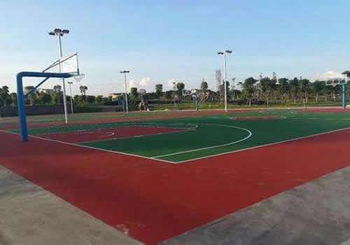 篮球场路面地表处理