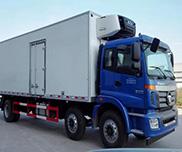 6*2欧曼9.5米冷藏车