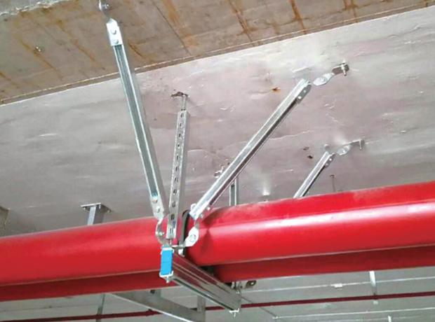 消防抗震支架安装