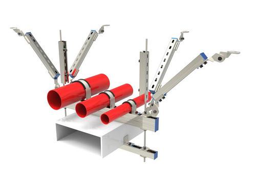 抗震支架厂家分享:确保抗震支架安全可靠的方法