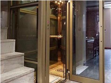 曳引别墅电梯