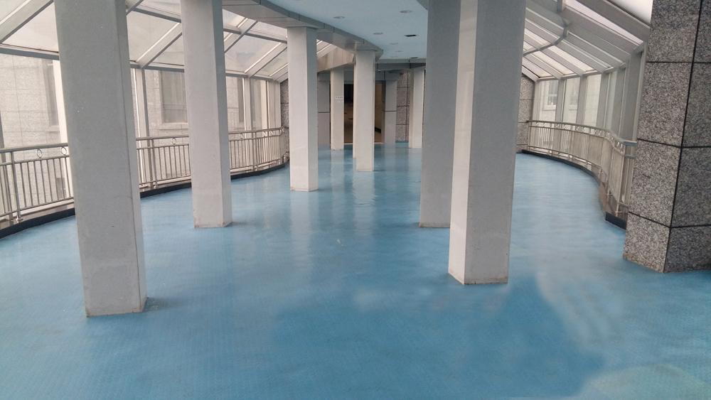遵义学院附属医院橡膠地板