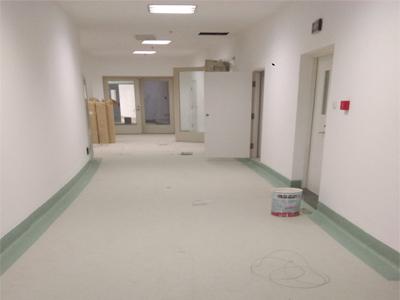 昆明市第一人名医院橡膠地板案例