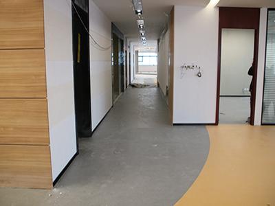 南京爱诺信大厦橡膠地板案例