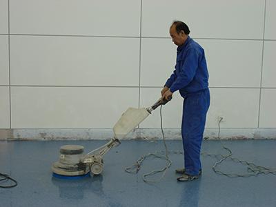 橡膠地板施工
