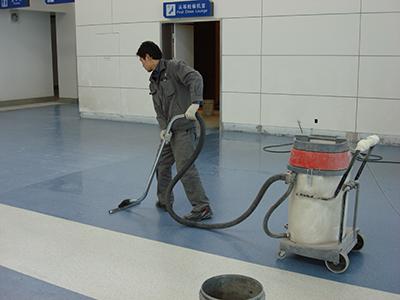 橡膠地板清洁