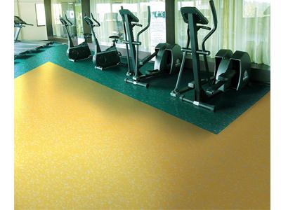 西安银力健身房橡胶地板