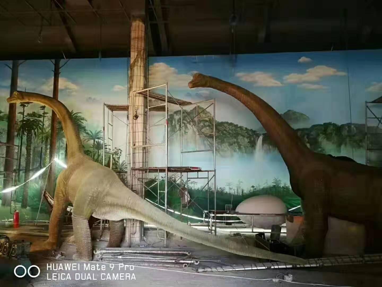 吉林延吉恐龙博物馆橡膠地板运用案例