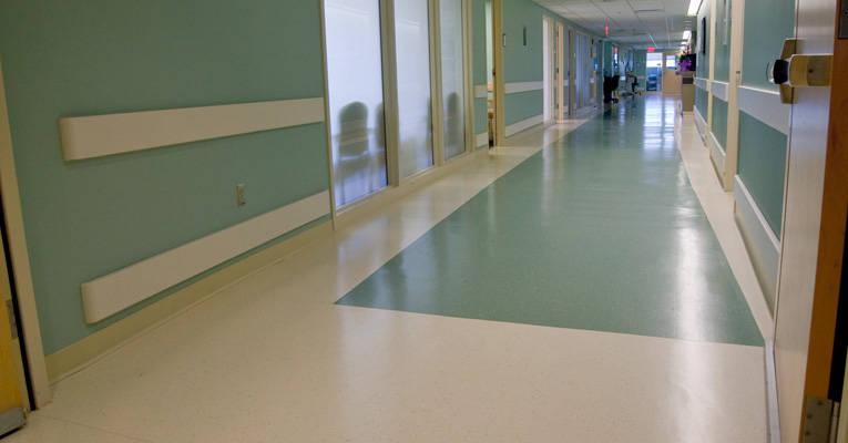 環保膠地板施工鋪裝的步驟