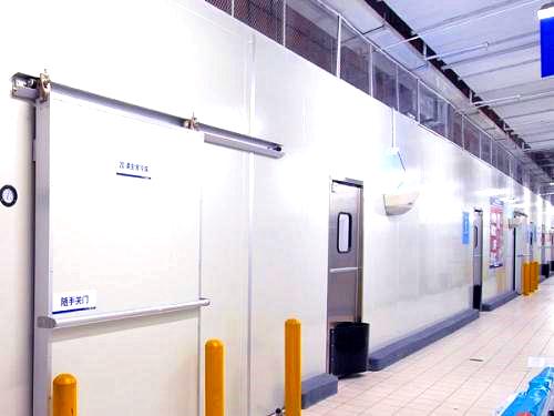 西安冷库设备中冷风机片距离应该怎么选择