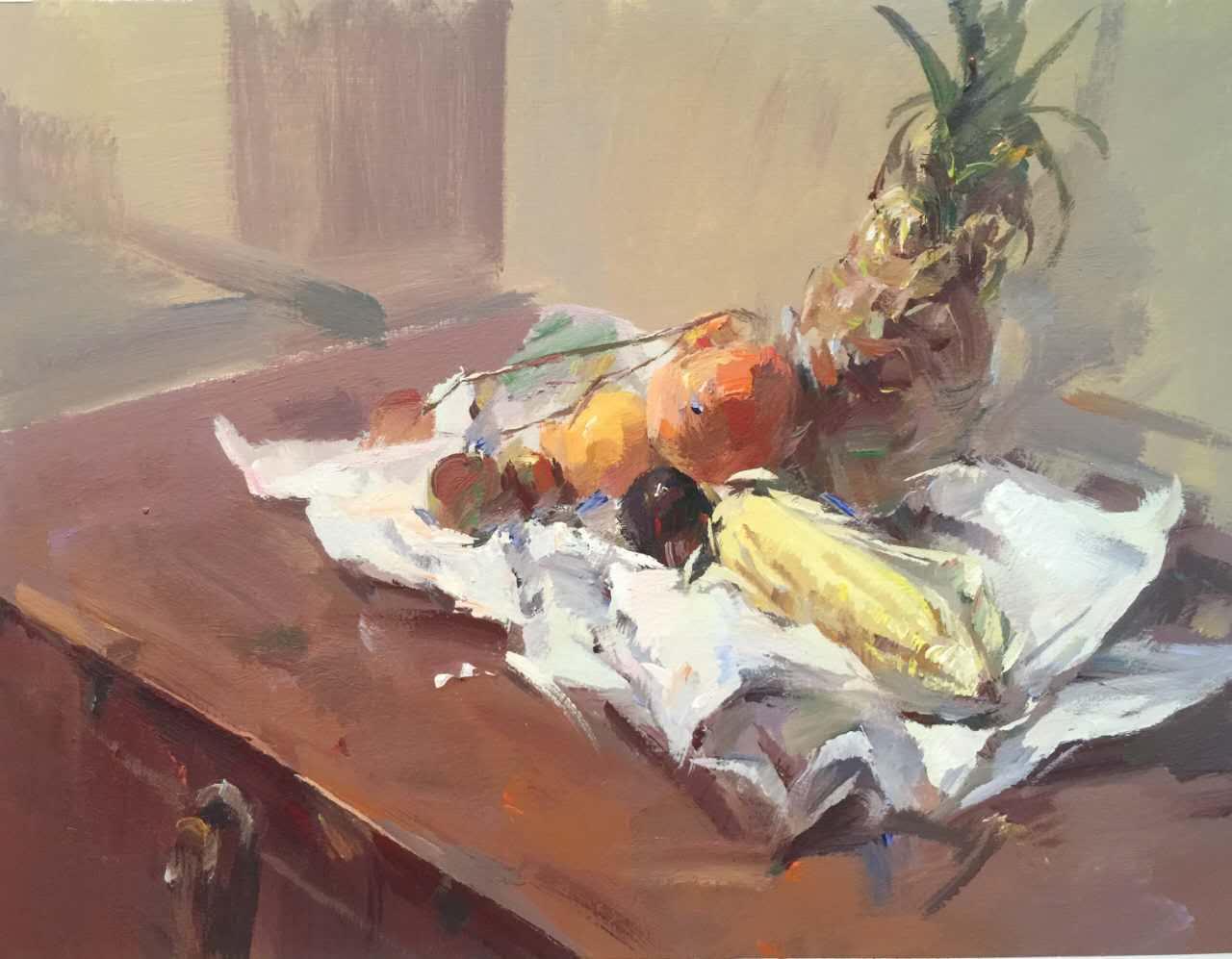 美术高考培训色彩课程就来西安明画室