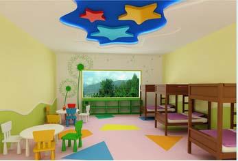 西安幼兒園塑膠地板