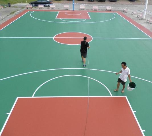 室内篮球馆地板