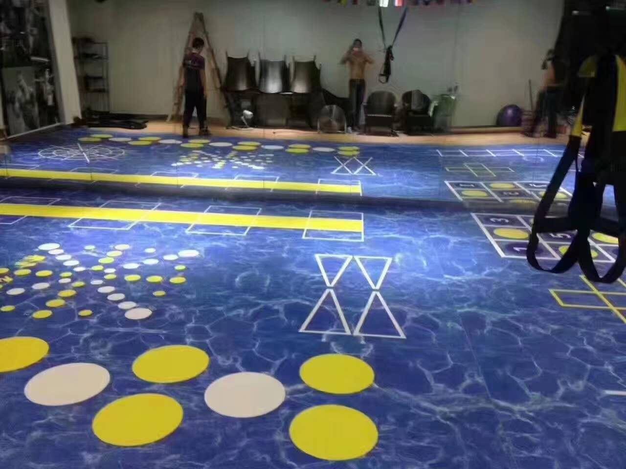 健身房pvc地板