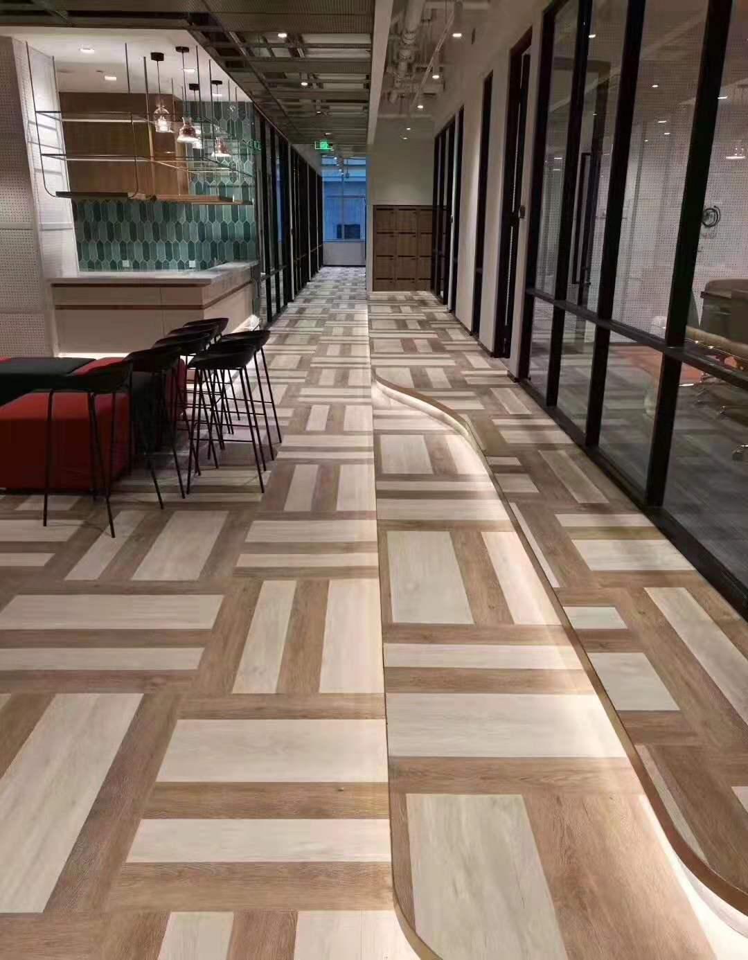 咖啡厅pvc地板案例