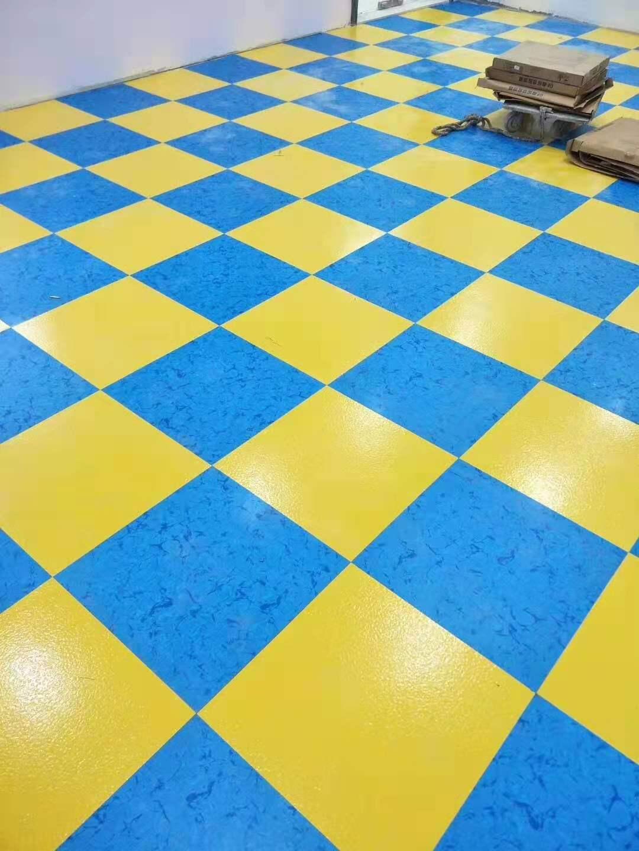 幼兒園塑膠地板案例