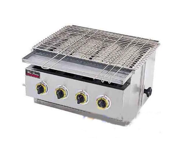 烤面筋串机