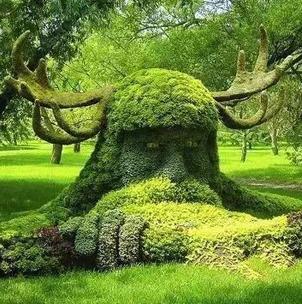 植物綠雕景觀