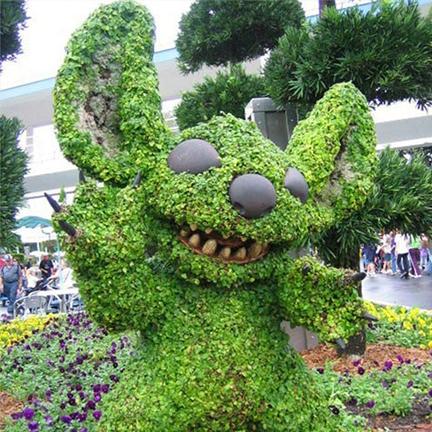 植物绿雕制作