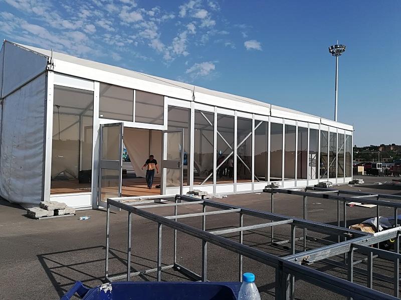 西安玻璃篷房案例展示
