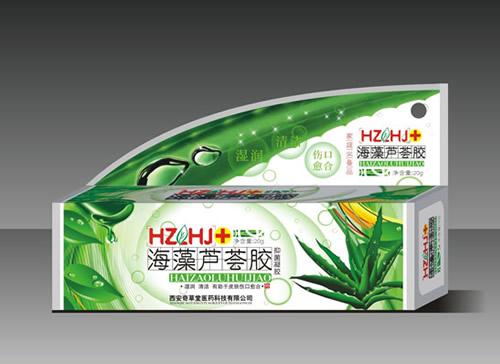 海藻蘆薈膠