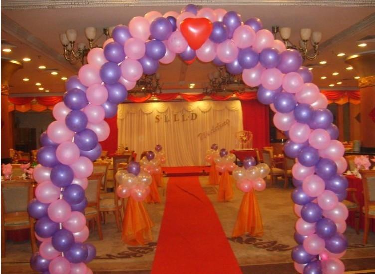 西安婚庆气球拱门制作方法欢迎致电13759991603蝴蝶气球工作室,在气