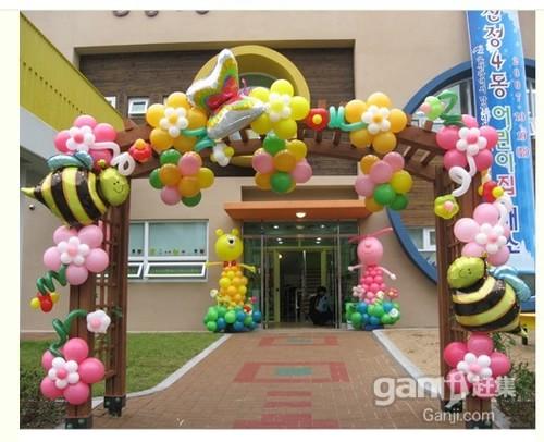 庆典活动气球装饰独特的造型和无限的创意空间,不仅能美化环