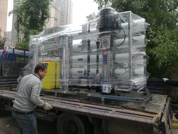 一体化软化水设备出现污染该如何处理呢