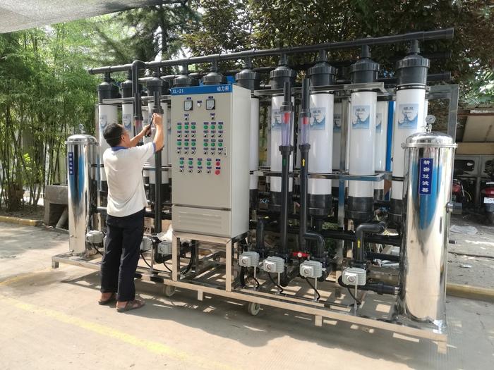 電瓶用去離子水設備使用范圍