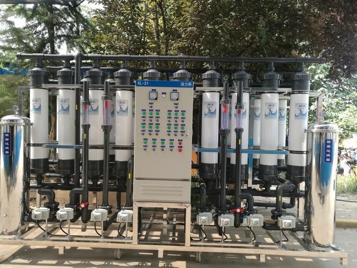 井水消毒设备购买签订合同售后有保障