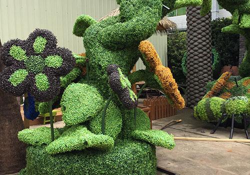 西安仿真绿雕制作