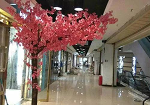 西安仿真海棠花树