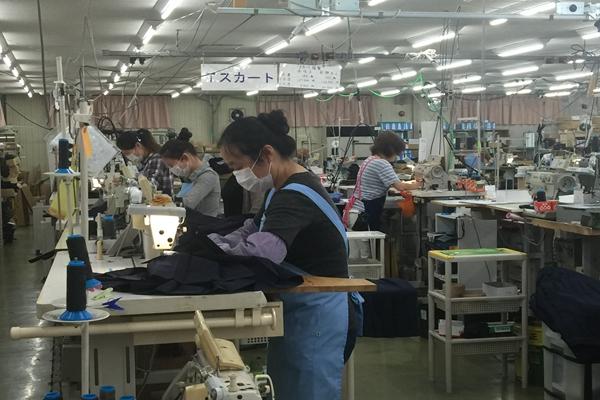 赴日本缝纫工1