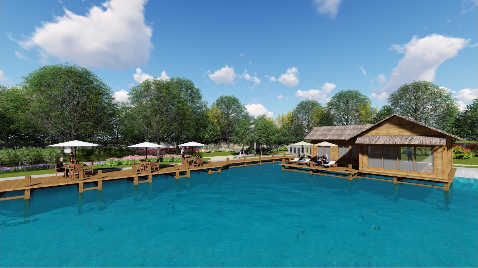 宝鸡卧龙生态园垂钓园景观设计方案