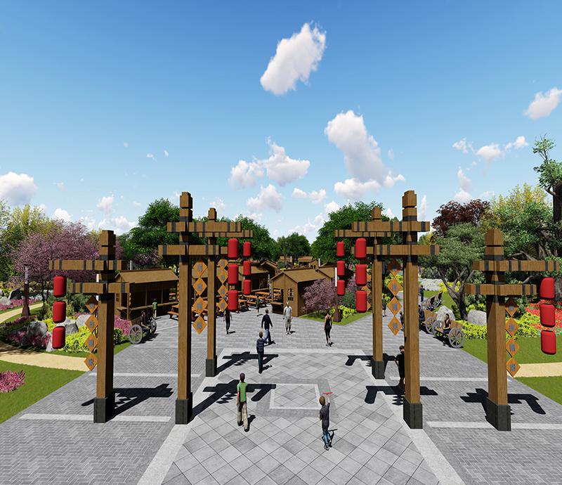 公共设施城市规划设计