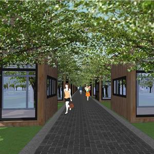 卧龙生态园林中景观设计方案