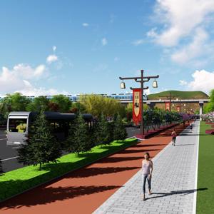 五丈原景区迎宾大道景观设计方案