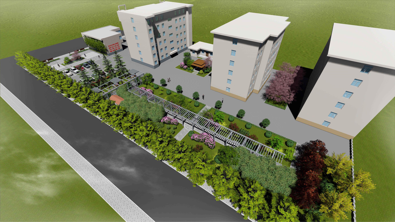 岐山县国税局景观环境提升方案设计