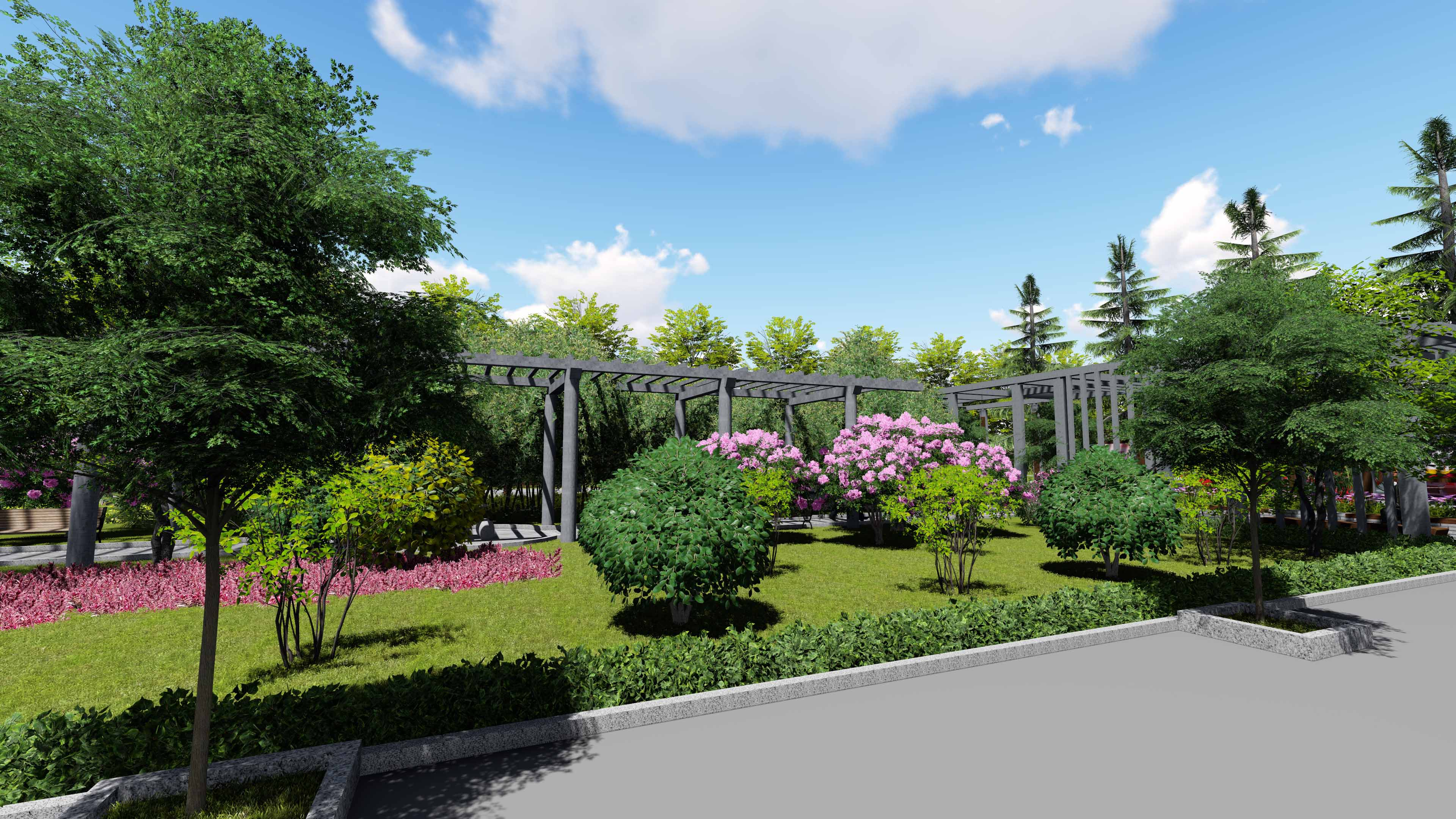 西安城市园林绿化设计