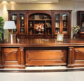 高档实木办公桌
