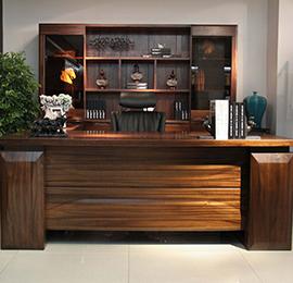 实木大板办公桌