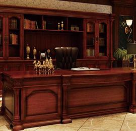 纯实木办公桌
