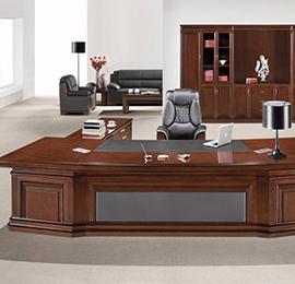 老板办公室实木办公桌