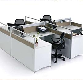 简约现代屏风办公桌