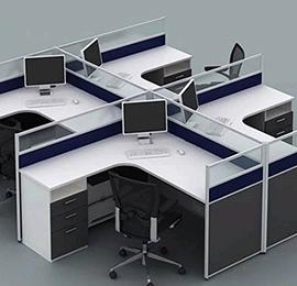 小工位职员办公桌