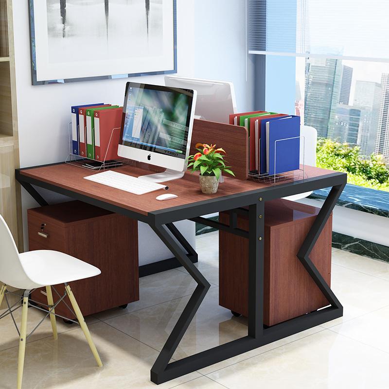 自媒體辦公室雙人辦公桌