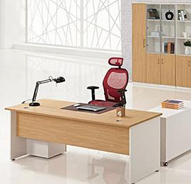 简约现代大班台办公桌