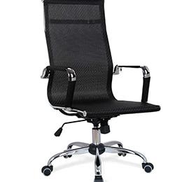 网布弓形会议椅