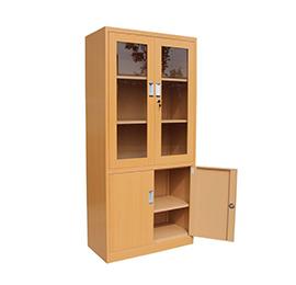 木质玻璃办公文件柜