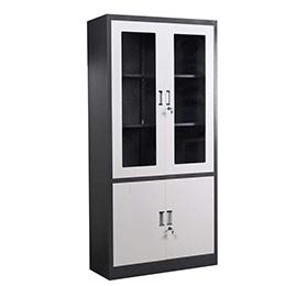 木质玻璃文件柜